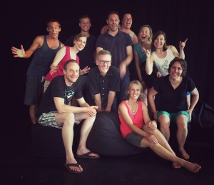 Improvisationstheater Speakertraining
