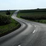 Schöne Straßen durch deutsche Landen