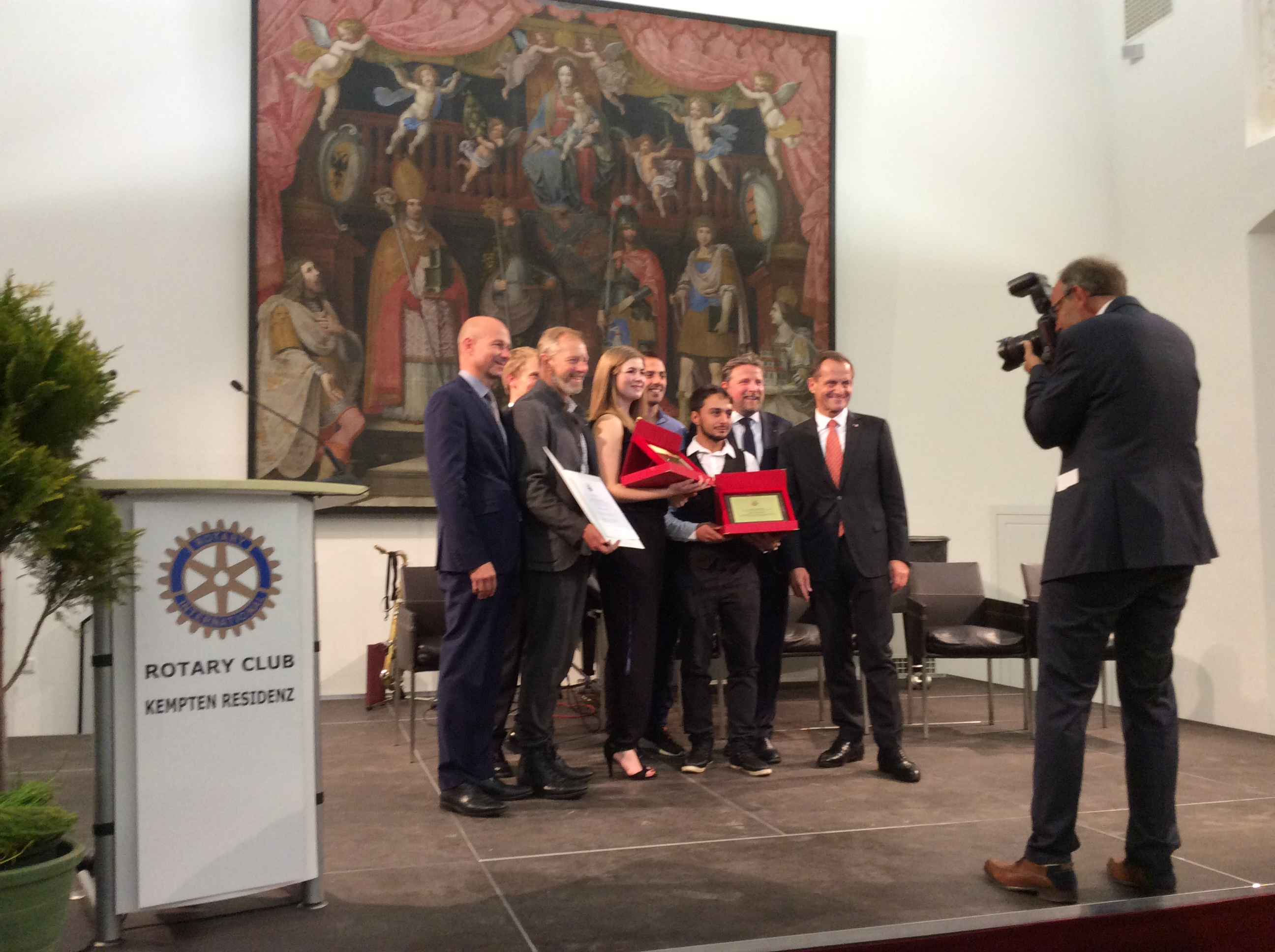 Die Preisträger - Jugendförderpreis 2015 (www.simon-schnetzer.com)