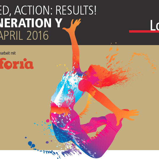 Lorange Institute - Generation Y Workshop