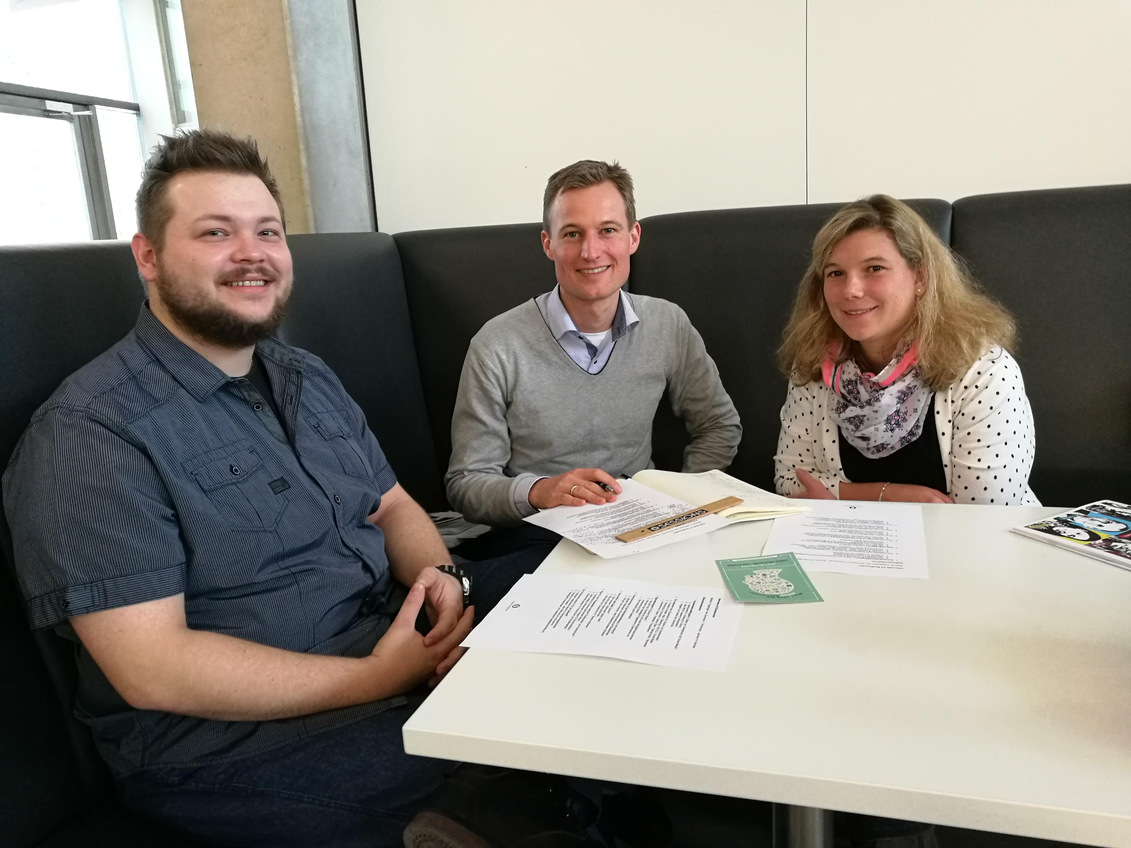 Interviews mit Studenten der Hochschule Aalen