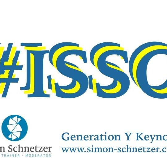 #ISSO - Generation Y Keynote (www.simon-schnetzer.com)