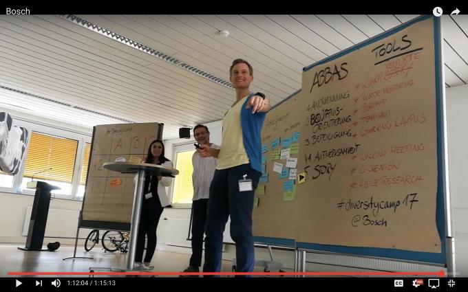 Diversity Day @Bosch - mit Agilität Mitarbeiter begeistern