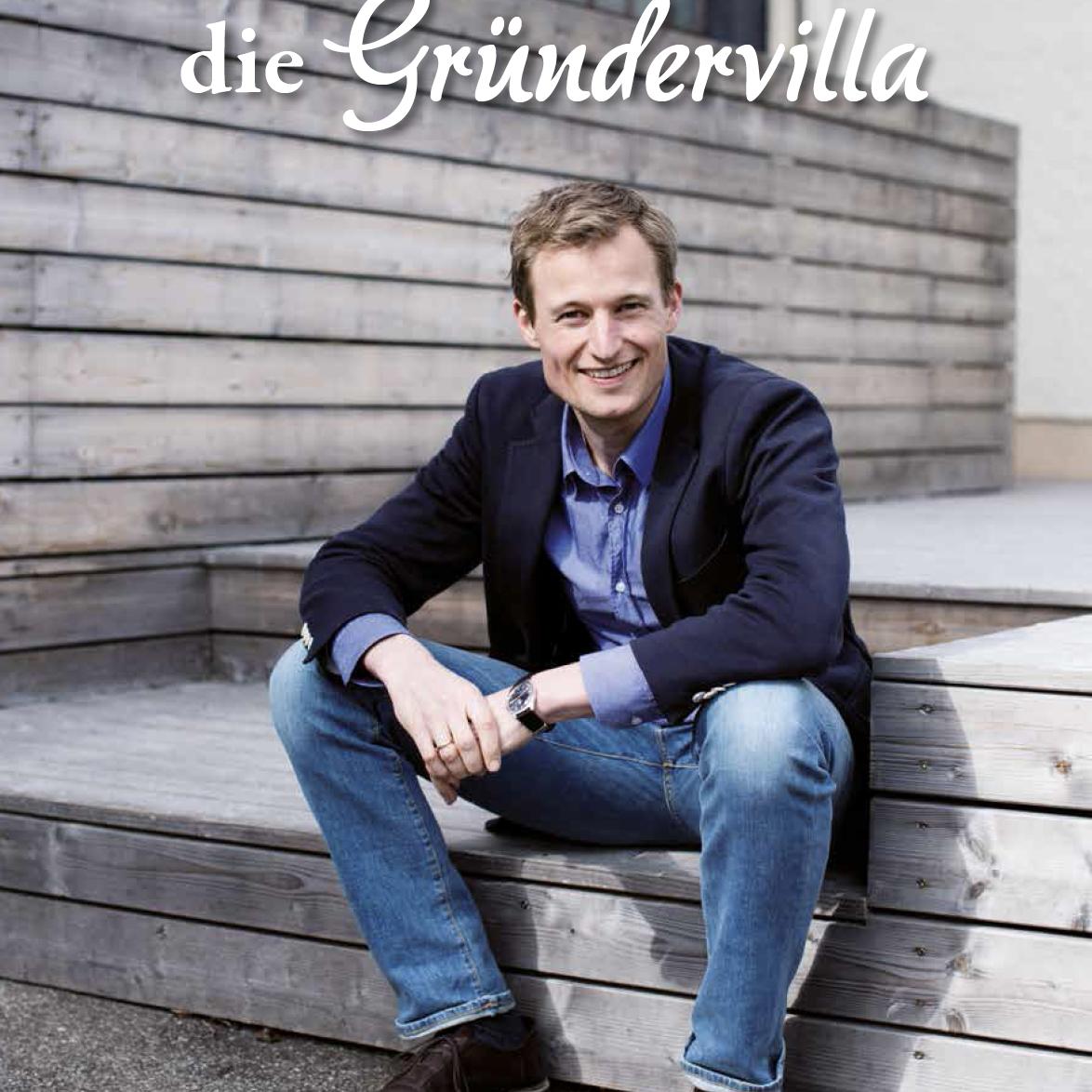 Ein Visionär im Allgäu - Simon und die Gründervilla _Coverbild - Simon Schnetzer in den Medien