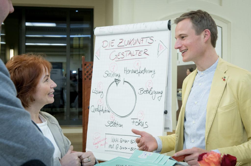 Die Zukunftsgestalter - von Simon Schnetzer - am BAP-Thementag Personalvermittlung