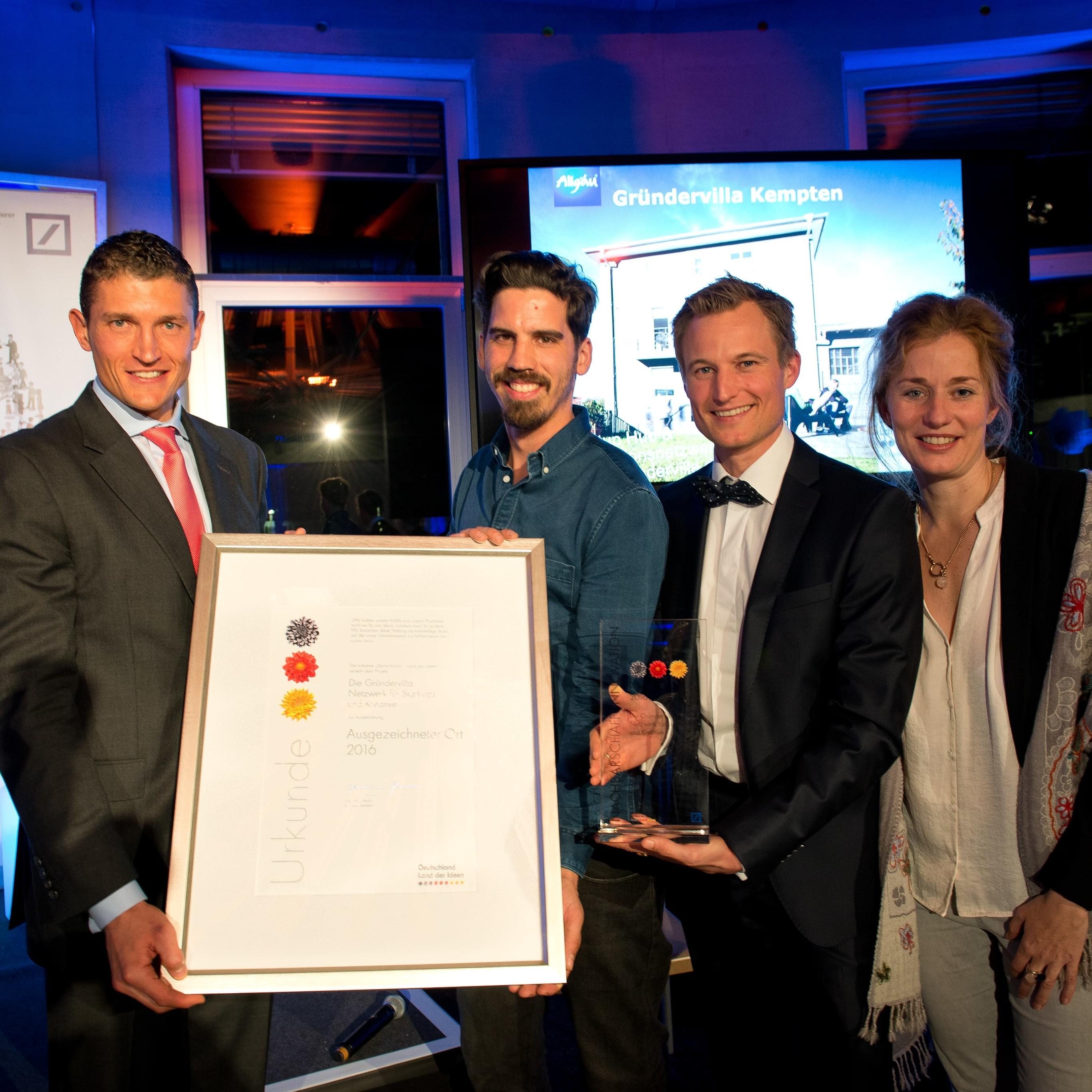 Simon Schnetzer - Preisträger im Land der Ideen