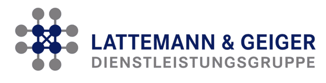 Logo Lattemann und Geiger Referenz Simon Schnetzer Trainer