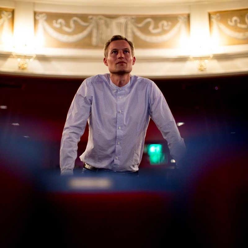Simon Schnetzer Konzentraion im Zuschauerraum ©piomars