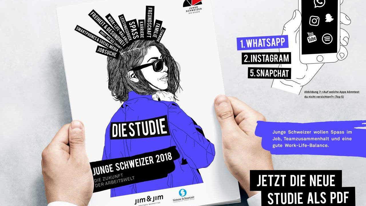 Simon Schnetzer - Studie Junge Schweizer 2018
