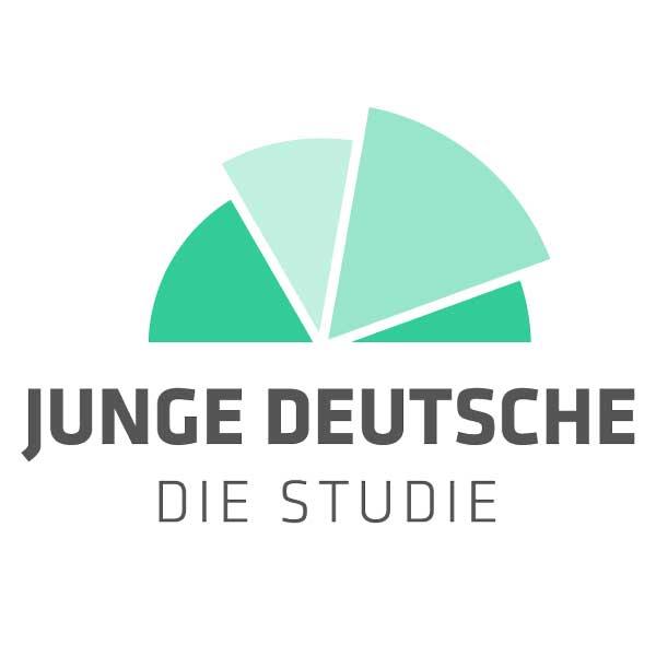 Logo der Studie Junge Deutsche von Simon Schnetzer