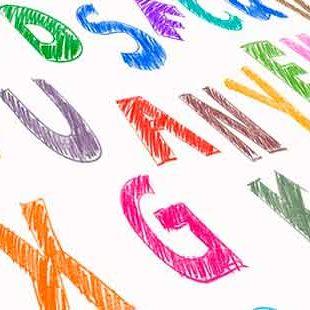 Abbildung Buchstaben - Jugendsprache 2019