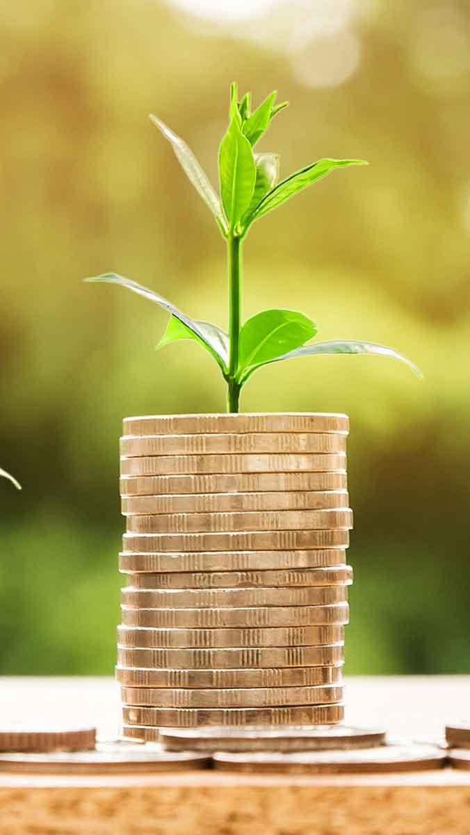 Abbildung Münzen: Generation Z und Finanzen