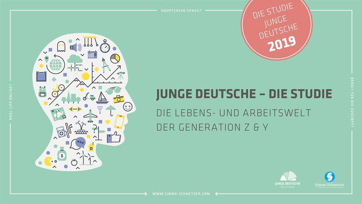 Titelteaser: Studie Junge Deutsche 2019 Generation Z Generation Y