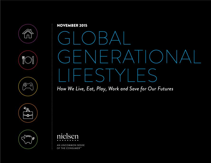 Gen Y Literaturliste 2019: Global Generational Lifestyles 2015