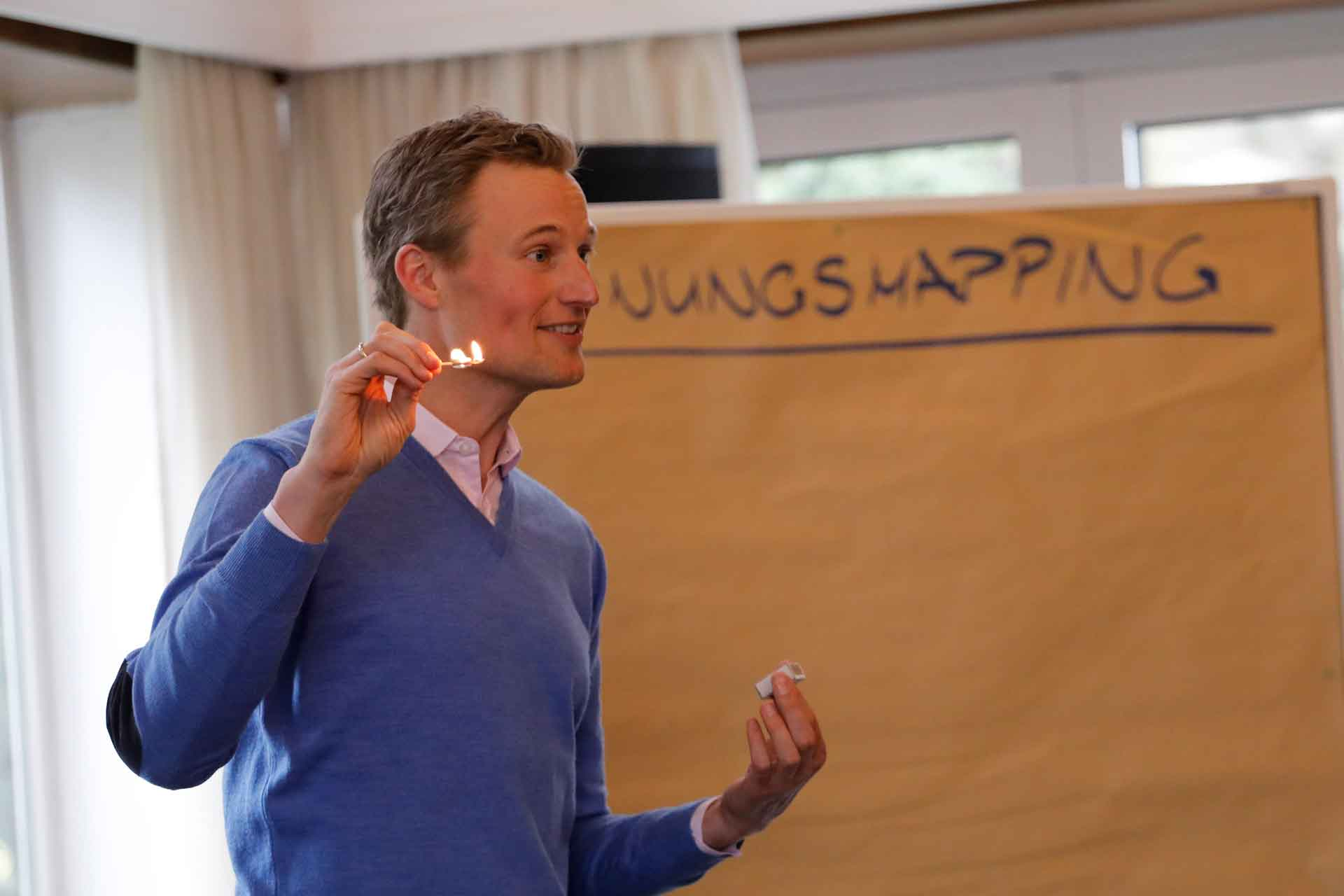 Zündholz - Idee - Innovationssprint Simon Schnetzer - GSA Winterkonferenz 2019