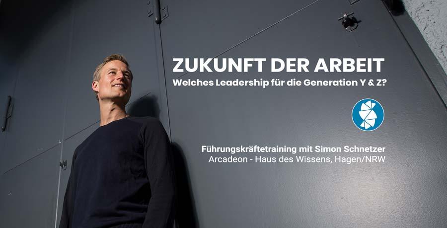 Fuehrungskraeftetraining Zukunft der Arbeit - Simon Schnetzer Teaser