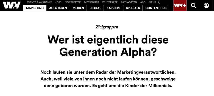Screenshot: Wer ist eigentlich die Generation Alpha?