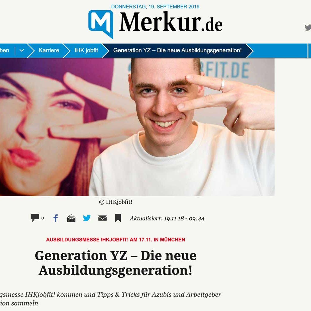 Sreenshot: Generation YZ – Die neue Ausbildungsgeneration!