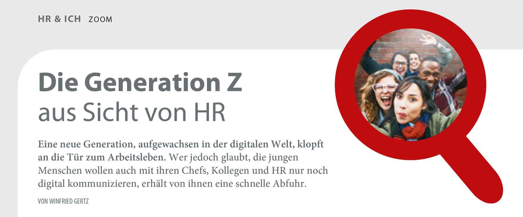 """Foto Artikel """"Die Generation Z aus der Sicht von HR"""""""