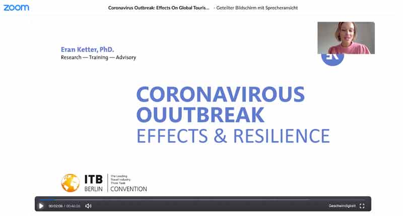 Screenshot - Digital Conference ITB Corona Outbreak