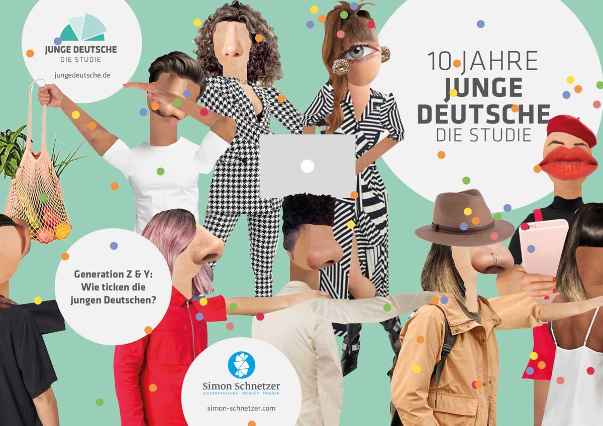 Keyvisual Studie Junge Deutsche 2021 - Simon Schnetzer