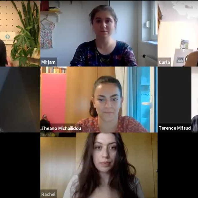 Screenshot Participants
