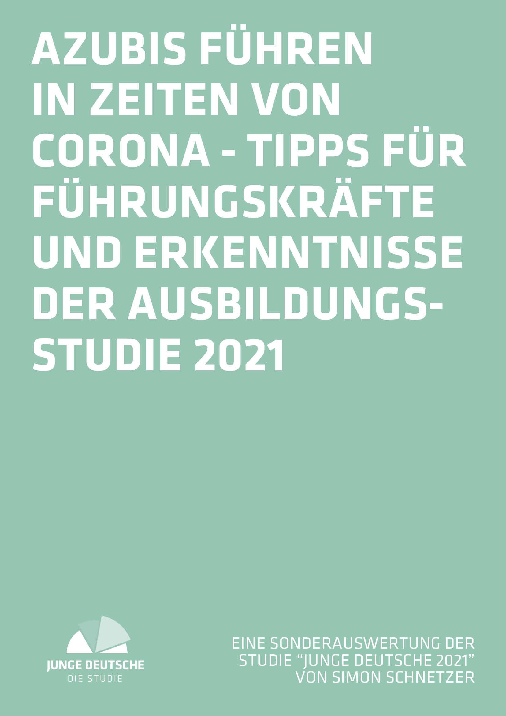 Ausbildungsstudie 2021 Bayern