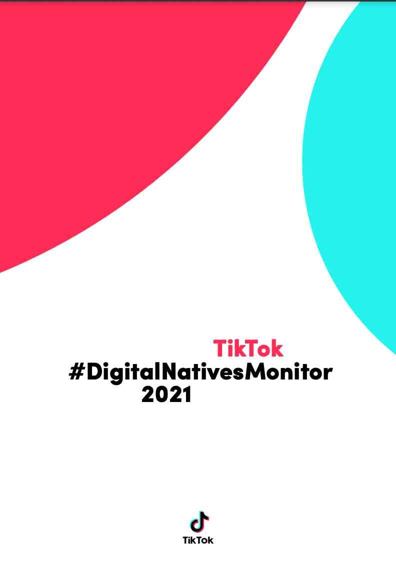 Cover - Report - TikTok DigitalNativesMonitor
