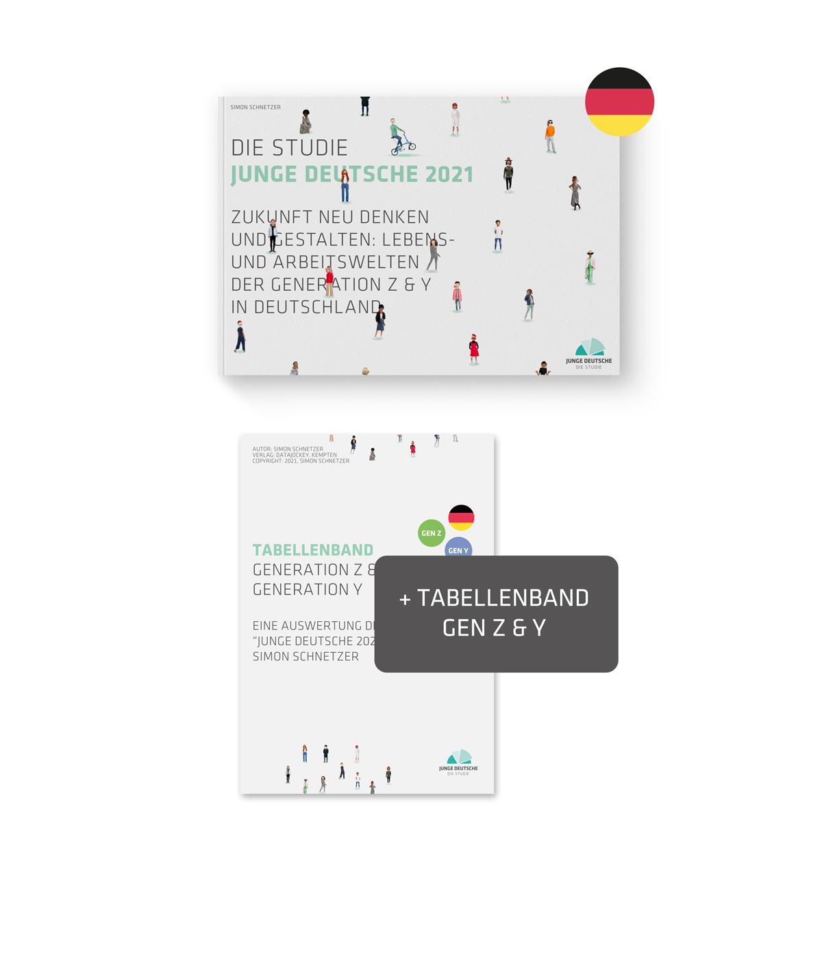Produktbild - Studie Junge Deutsche 2021 Publikation PLUS