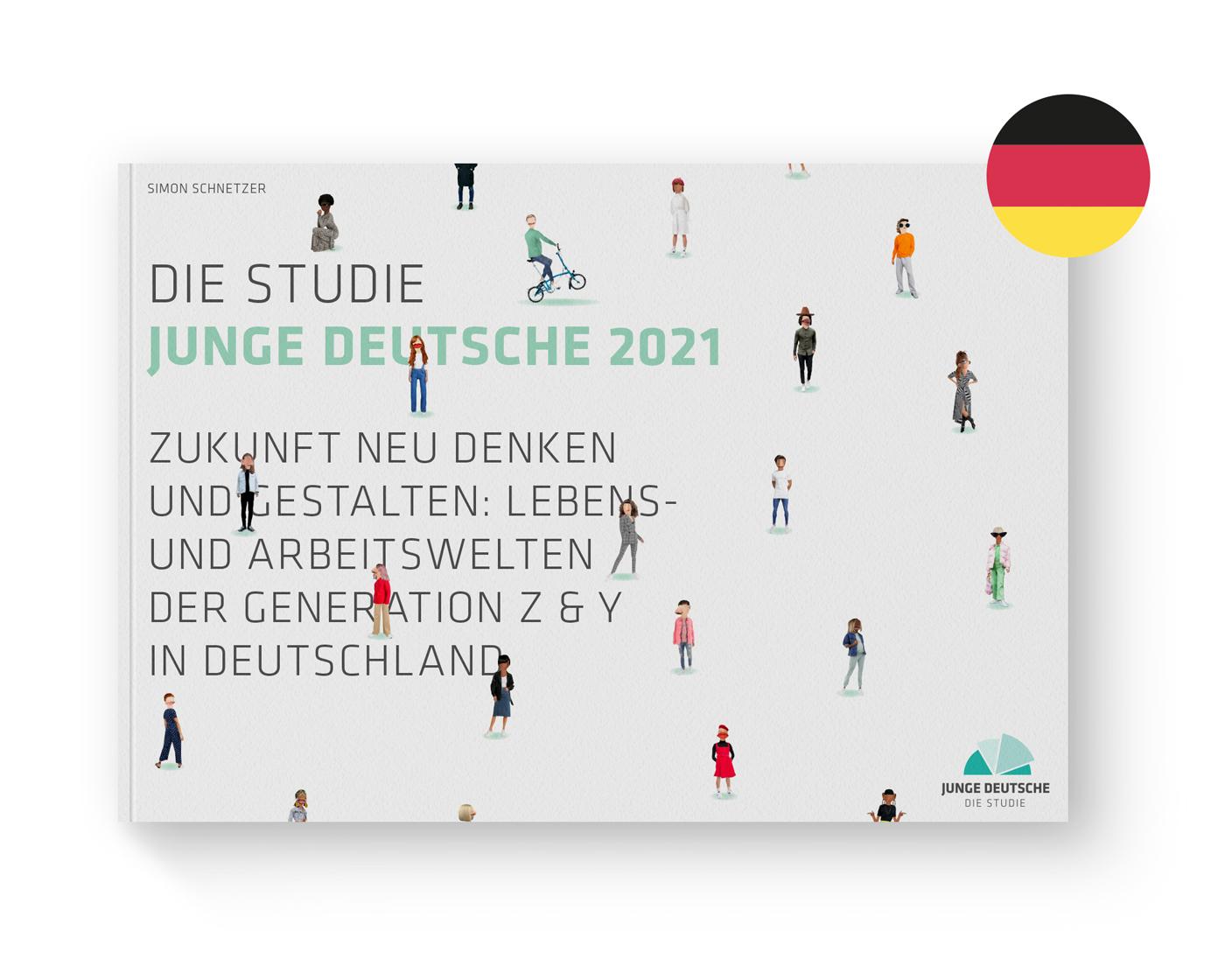 Cover Jugendstudie Junge Deutsche 2021