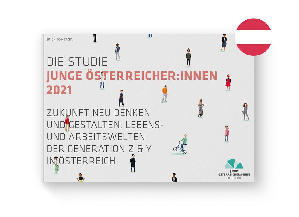 Cover Publikation Junge Österreicher:innen 2021