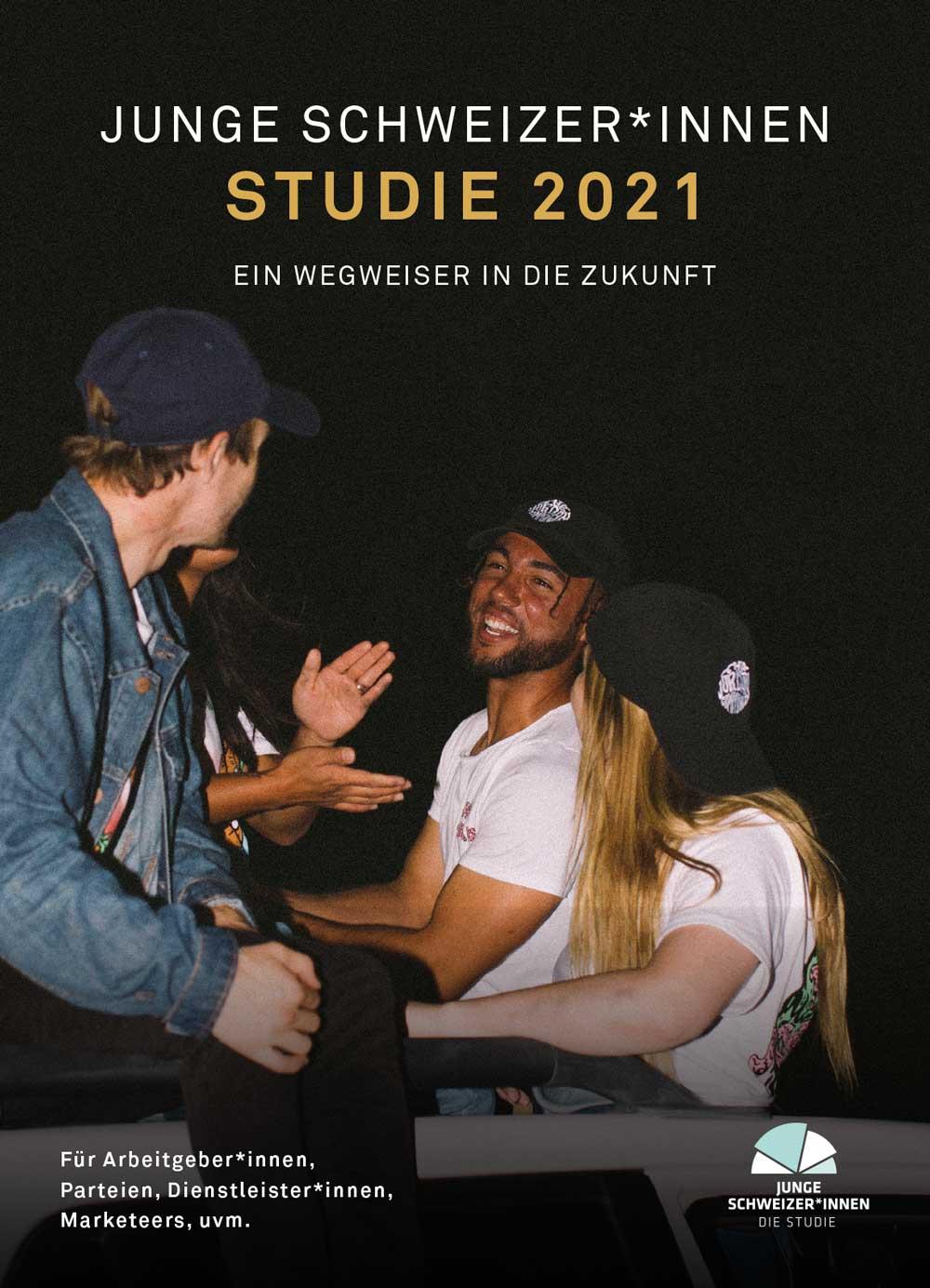 Cover Studie Junge Schweizer*innen 2021