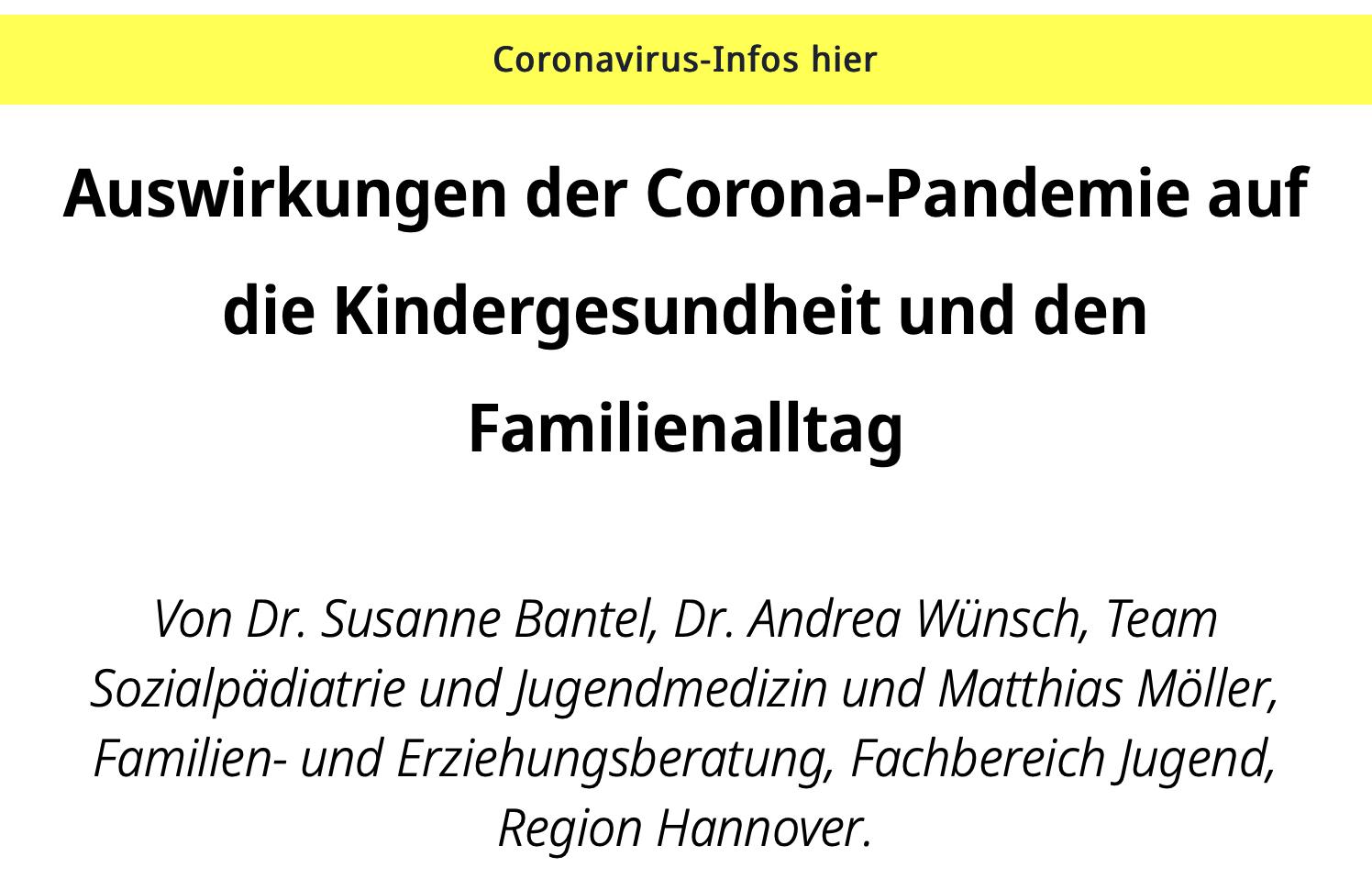 Generation Alpha Trends - Kindergesundheit und Familienalltag - Update Q2-2021 von Simon Schnetzer